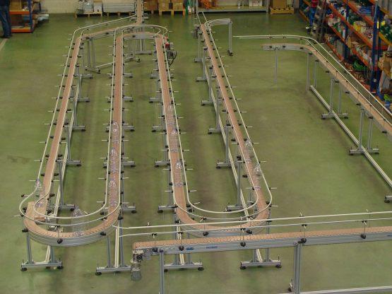 NT 300 20 - Slat chain conveyor