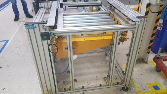 NT 600 50: Ascensor neumático - Vertical pallet transfer
