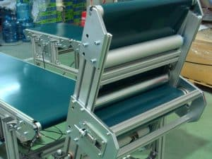 Belt conveyor special systems