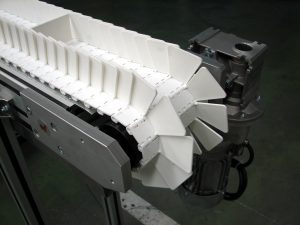 Modular belt conveyor, also called NT500