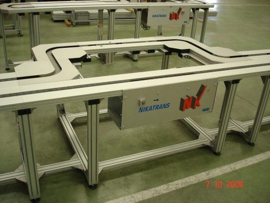 NT 900 - Transportador de cadena cardánica