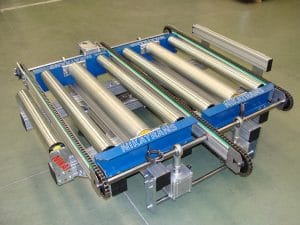 NT 600 50 Pneumatic transfer for Europallets