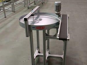 Accumulation buffer with Belt Conveyor